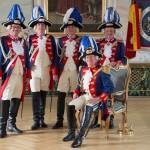 Vorstand in Uniform