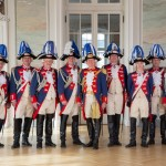 Offiziercorps in Uniform